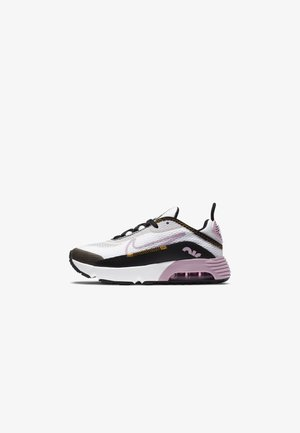 AIR MAX 2090 UNISEX - Sneakers laag - white/lt arctic pink-black-dark sulfur