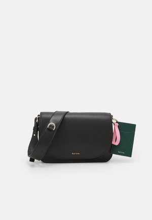 WOMENS SADDLE SET - Handbag - black
