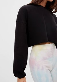 Bershka - Sweater - black - 3