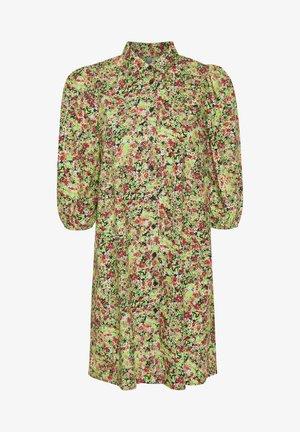 Shirt dress - jasmine green
