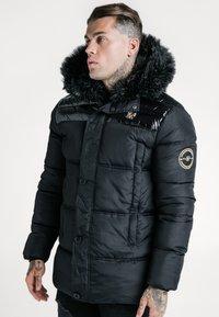 SIKSILK - ELITE PARKA - Zimní bunda - black - 0