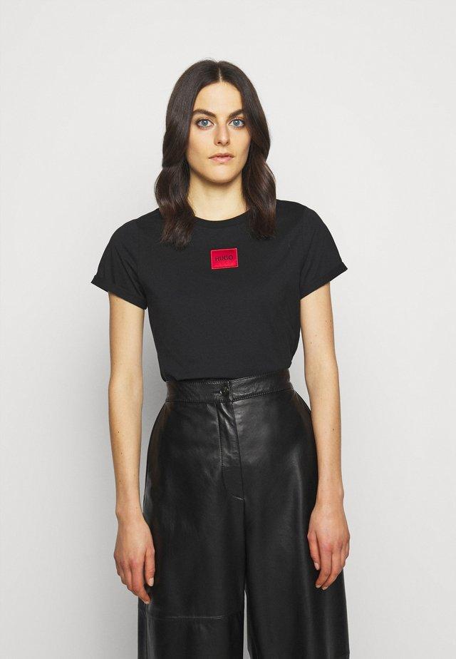 THE SLIM TEE - Print T-shirt - black