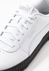 Puma - CARINA  - Sneaker low - white/black/silver - 2