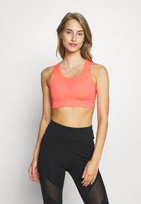 Sweaty Betty - ALL TRAIN SPORTS BRA - Sportovní podprsenka - fluro flash pink - 0