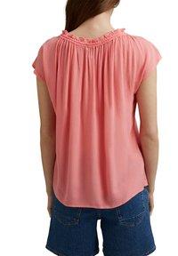 Esprit - BLOUSE - Print T-shirt - coral - 5