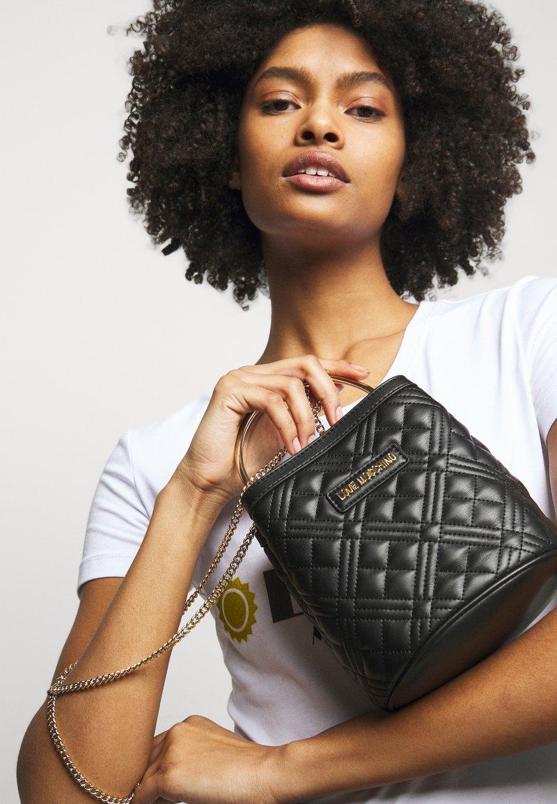 Love Moschino - QUILTED SOFT - Handbag - nero