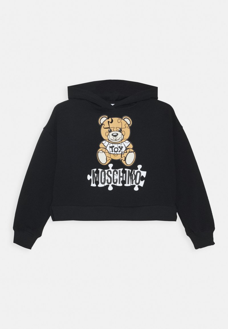 MOSCHINO - HOODED - Kapuzenpullover - black