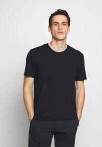 James Perse - CREW - Basic T-shirt - dark blue - 0