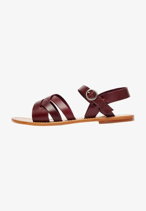 COSME - Sandals - burgundy