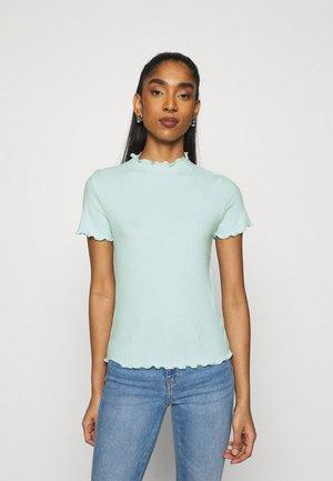 ONLEMMA HIGHNECK - T-shirts - honeydew