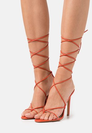 GLAOSA - T-bar sandals - orange