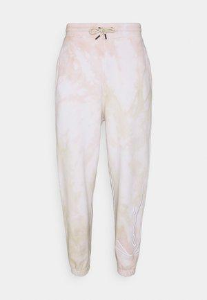 SIGNATURE TIE DYE UNISEX  - Pantalon de survêtement - light sand