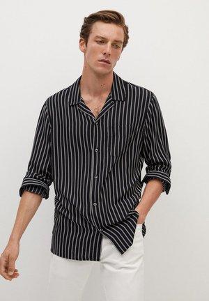 STRIPE - Shirt - black