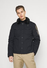 Schott - JEEPER - Winter jacket - navy - 0