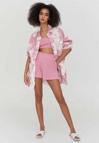 PULL&BEAR - SET - Shorts - pink - 1