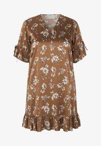 INAN ISIK - Day dress - braun - 1