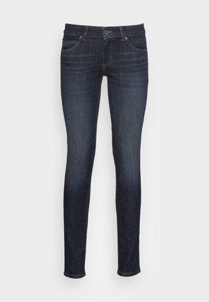 DENIM TROUSER LOW WAIST SKINNY FIT REGULAR LENGTH - Jeans Skinny Fit - liverpool wash