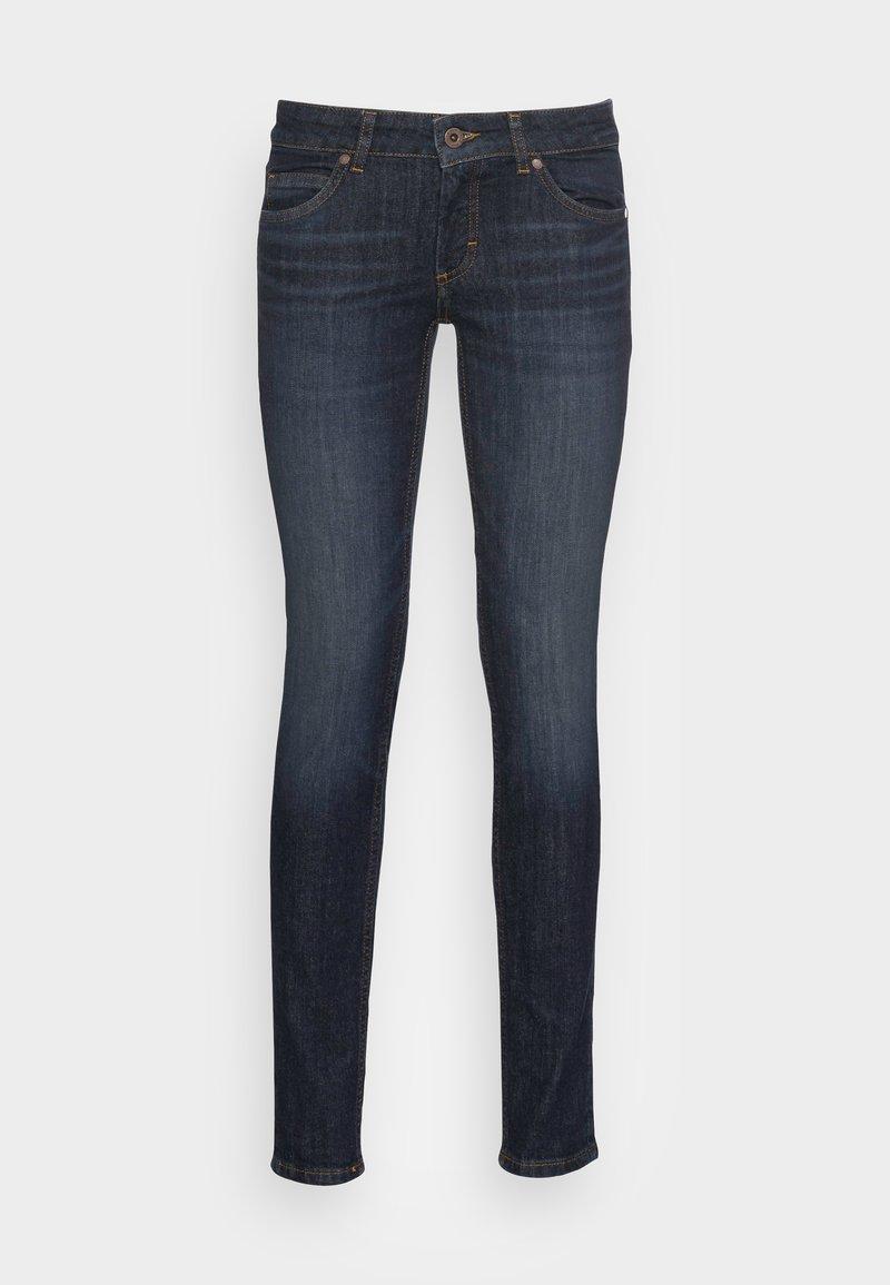 Marc O'Polo - DENIM TROUSER LOW WAIST SKINNY FIT REGULAR LENGTH - Jeans Skinny Fit - liverpool wash
