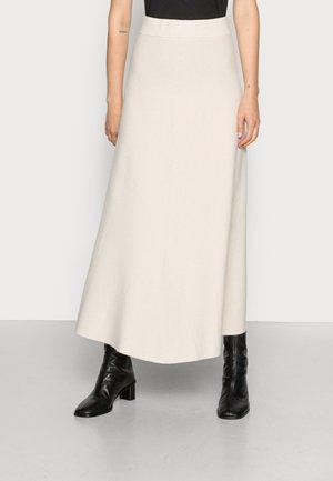 KAIA - Áčková sukně - almond milk
