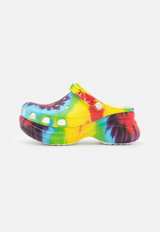 Muiltjes met hak - multicolor