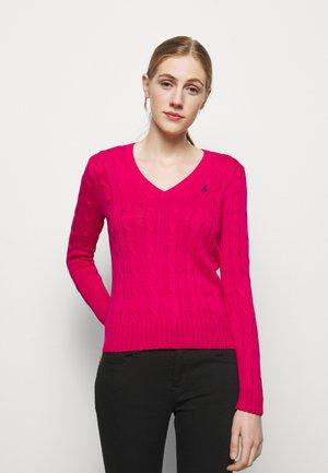CLASSIC - Strikkegenser - sport pink