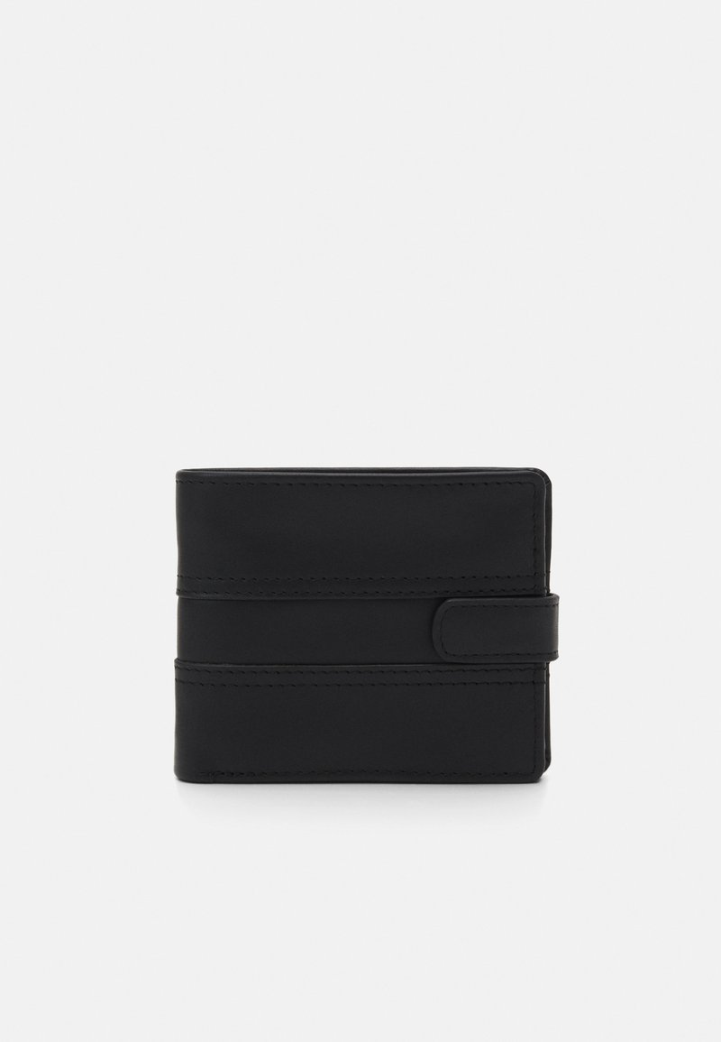 Pier One - LEATHER - Monedero - black