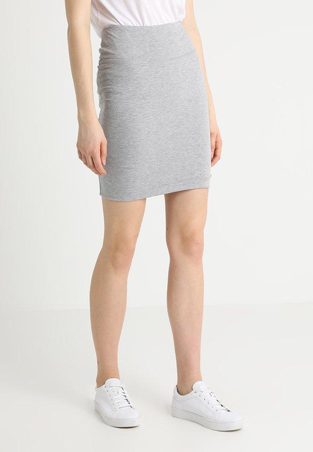 PENNY SKIRT - Pencil skirt - grey melange