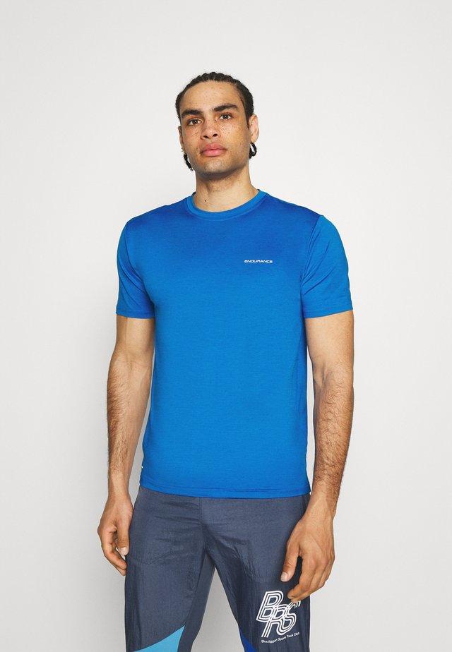 MELANGE TEE - T-shirts basic - directoire blue