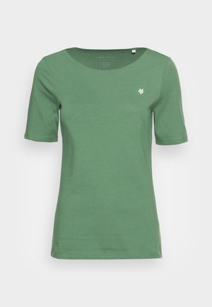 SHORT SLEEVE ROUND NECK - T-shirt basique - meadow grass