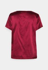 MAX&Co. - FLAVIA - Jednoduché triko - burgundy - 1