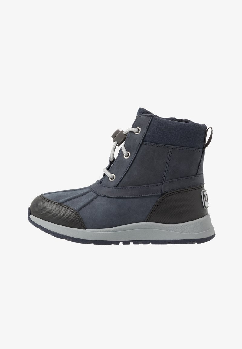 UGG - TURLOCK - Lace-up ankle boots - black/sapphire
