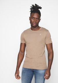G-Star - BASE 2 PACK - Basic T-shirt - light deer - 2