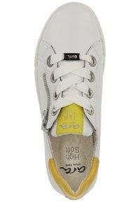 ara - Sneakers - white/yellow - 1