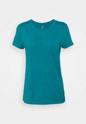 CREW - Basic T-shirt - bright peacock