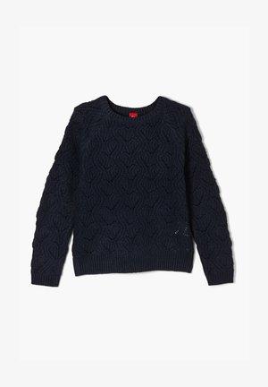TRUI - Jumper - blue knit