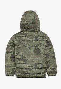 Superdry - REVERSIBLE FUJI - Winter jacket - olive/yellow - 1