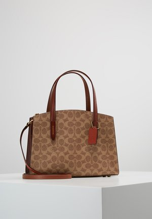 CHARLIE CARRYALL SIGNATURE - Handbag - rust