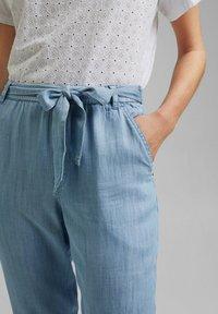 Esprit - Pantalon classique - blue bleached - 3