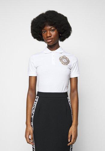 Polo shirt - optical white/gold