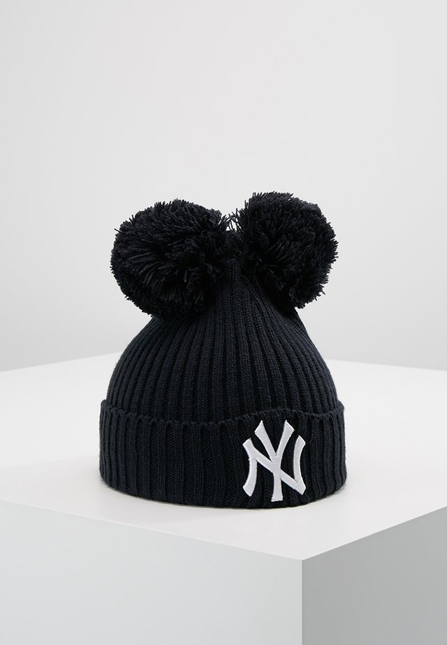 DOUBLE POM CUFF LOS ANGELES DODGERS - Beanie - navy/optic white