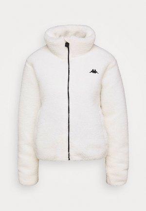 VALANA - Fleece jacket - snow white