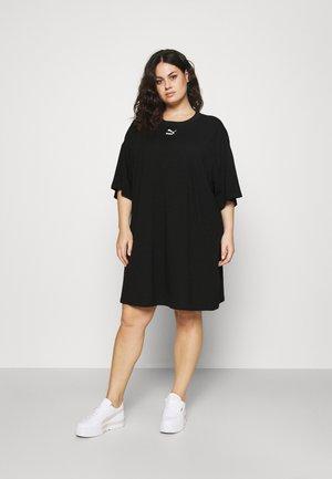 CLASSICS TEE DRESS  - Robe en jersey - black
