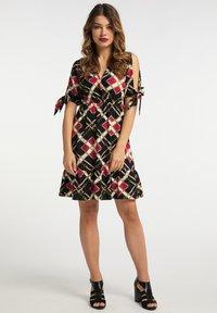 faina - Day dress - schwarz mehrfarbig - 1