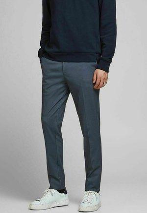 HAHNENTRITT - Chino - navy blazer