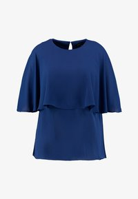 CAPSULE by Simply Be - OVERLAY - Blouse - navy - 4