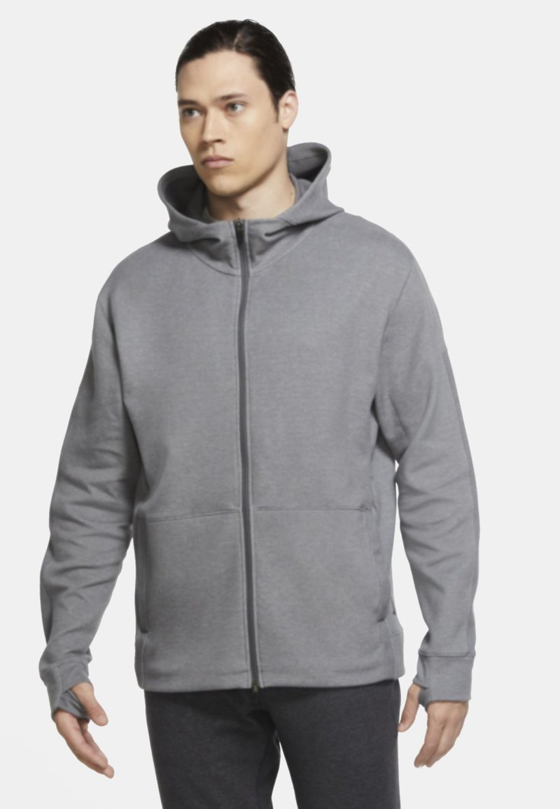 Nike Performance - Zip-up hoodie - iron grey/htr/(black)