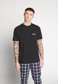 Napapijri The Tribe - SASE - Print T-shirt - black - 0