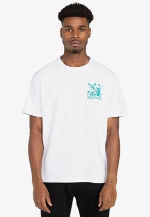 DEVILS - Print T-shirt - white