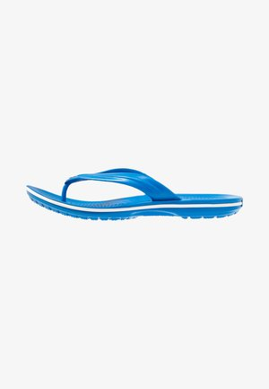CROCBAND FLIP UNISEX - Teenslippers - bright cobalt/white