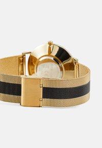 Pier One - SET - Klokke - gold-coloured/black - 1